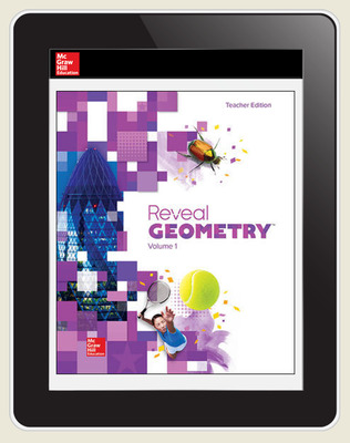 Reveal Geometry, Teacher Digital License, 1-year subscription