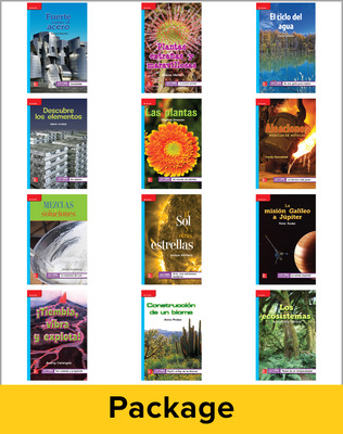 Inspire Science Grade 5, Spanish Leveled Reader Library, 6 Each of 12 Titles (On Level)