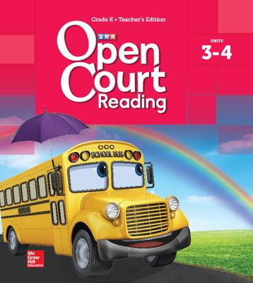 Open Court Reading Teacher Edition, Volume 2, Grade K