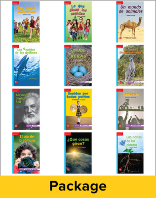 Inspire Science Grade 1, Spanish Leveled Reader Library, 6 Each of 12 Titles (On Level)