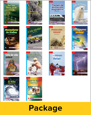 Inspire Science Grade 3, Spanish Leveled Reader Class Set, 1 Each of 14 Titles (On Level)