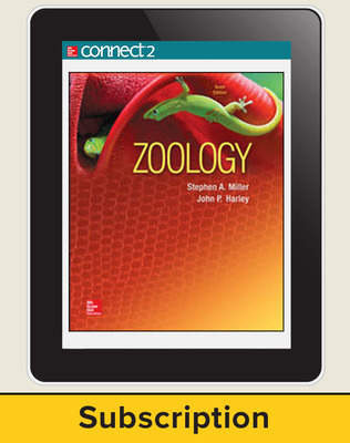 Miller, Zoology, 2016, 10e (Reinforced Binding) Connect, 1-year subscription