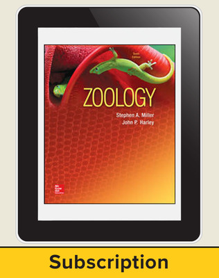 Miller, Zoology, 2016, 10e (Reinforced Binding) ConnectED eBook, 1-year subscription