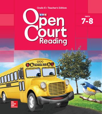 Open Court Reading Teacher Edition, Volume 4, Grade K