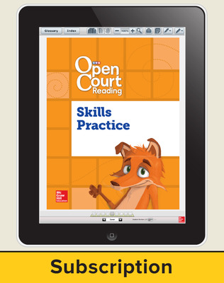 Open Court Reading Foundational Skills Kit Single Class License, I-year subscription Grade 1