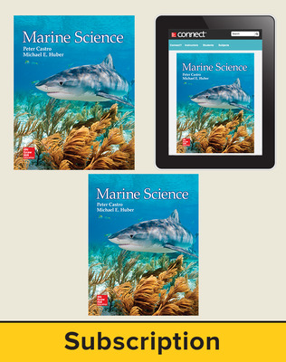 Castro, Marine Science, 2016, 1e, Premium Student Bundle (Student Edition with Connect, Lab Manual), 6-year subscription