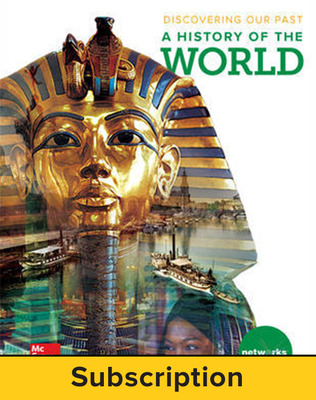 Discovering Our Past: A History of the World, Student Learning Center, 1-year subscription