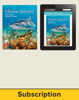 Castro, Marine Science, 2016, 1e, Standard Student Bundle (Student Edition with Connect), 1-year subscription