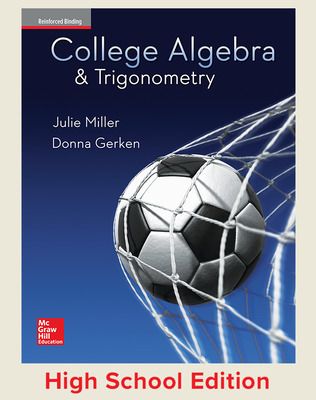 College Algebra and Trigonometry(Miller) cover