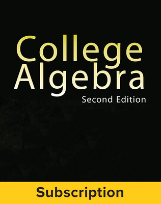 Miller, College Algebra, 2017, 2e, ConnectED eBook, 6-year subscription