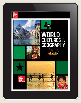 World Cultures and Geography, Texas Student LearnSmart 1-year subscription