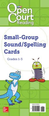 Open Court Reading Grades 1-3 Medium-Sized Sound/Spelling Cards