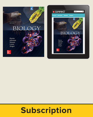 Raven, Biology, 2017, 11e (AP Edition) Standard Student Bundle (Student Edition with Connect), 6-year subscription