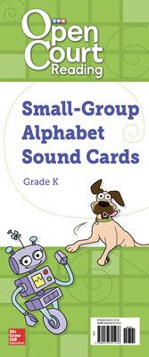 Open Court Reading Grade K Medium-Sized Alphabet Sound Cards