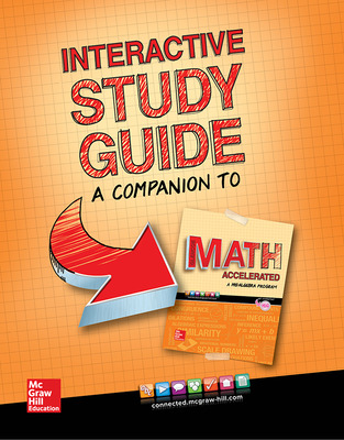 Glencoe Math Accelerated 2017, Interactive Study Guide