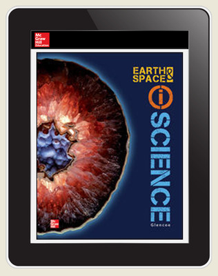 Earth & Space iScience, Grade 6, Student Embedded LearnSmart,1-year subscription