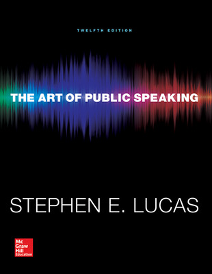 Lucas, The Art of Public Speaking, 2015, 12e, ConnectED eBook, 1-year subscription