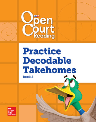 Open Court Reading, Practice PreDecodable and Decodable 4-color Takehome 2, Grade 1