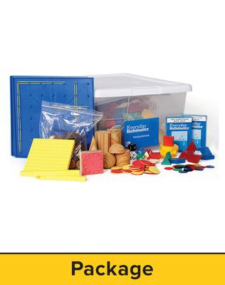 Everyday Mathematics 4, Grade 2, Manipulative Kit with Markerboards