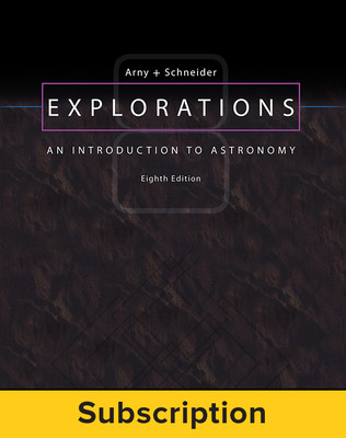 Arny, Explorations: An Introduction to Astronomy, 2017, 8e, Standard Student Bundle, 6-year subscription