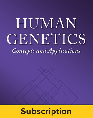 Lewis, Human Genetics: Concepts and Applications © 2015, 11e, Standard Student Bundle (Student Edition with Connect Plus®), 1-year subscription