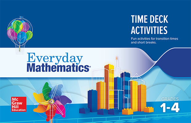 Everyday Mathematics 4: Grades 1-4, Time Card Deck Activity Booklet