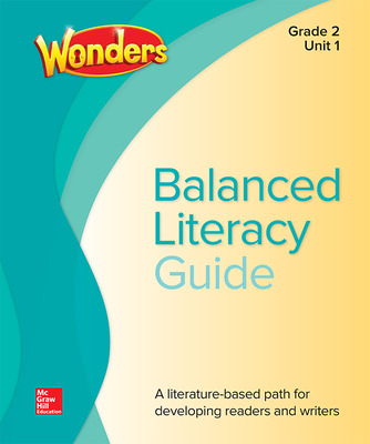 Wonders Balanced Literacy cover