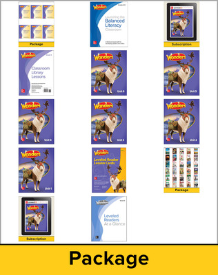 Wonders Balanced Literacy, Grade 5 Comprehensive Package, 6-year subscription