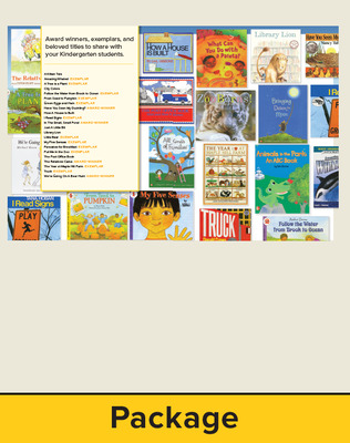 Wonders Balanced Literacy, Gr K, Trade book Package with Cards