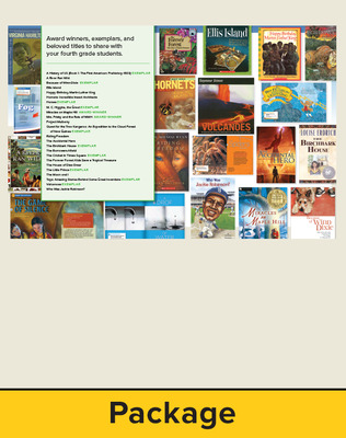 Wonders Balanced Literacy, Gr 4, Trade Book Package with Cards