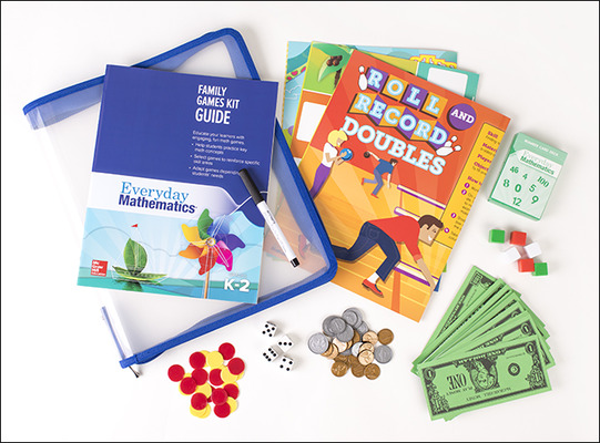 Everyday Mathematics 4: Grades 3-4, Family Games Kit