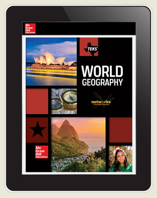 World Geography, Texas Student LearnSmart 1-year subscription