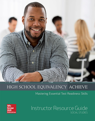 High School Equivalency Achieve Social Studies, Instructor Resource Guide
