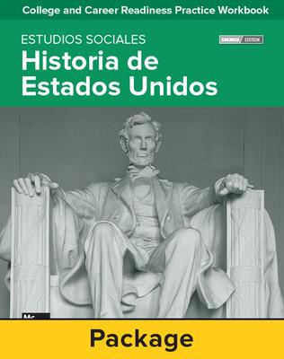 College and Career Readiness Skills Practice Workbook: U.S. History Spanish Edition, 10-pack