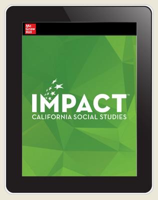 IMPACT: California, Grade 12, Online Student Edition, 8-year Subscription, Principles of Economics