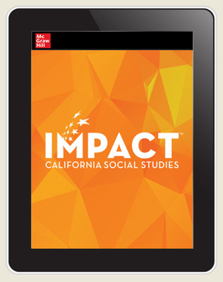 IMPACT: California, Grade 10, Online Student Edition, 8-year Subscription, World History, Culture, & Geography, The Modern World