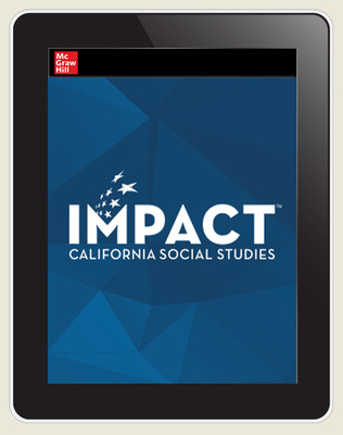 IMPACT: California, Grade 11, Online Student Edition, 8-year subscription, United States History & Geography, Continuity and Change