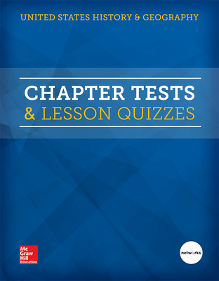 United States History and Geography, Chapter Tests and Lesson Quizzes