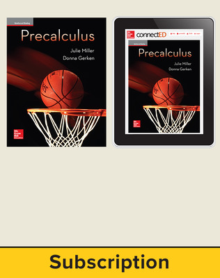 Miller, Precalculus, 2017, 1e, Student Bundle (Student Edition with ConnectED eBook), 1-year subscription