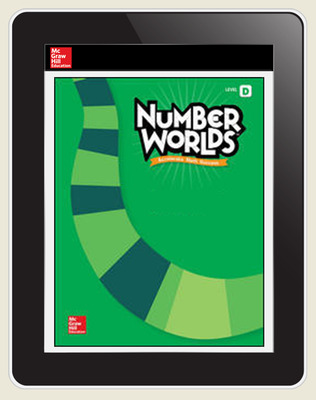 Number Worlds Standards Neutral Level D Student License, 3-year subscription