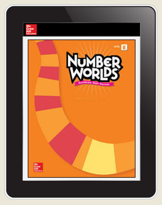 Number Worlds Standards Neutral Level E Student License, 3-year subscription