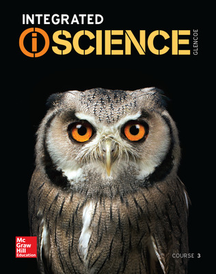 Integrated iScience, Course 3 cover
