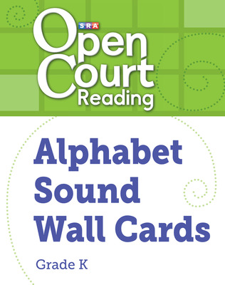 Open Court Reading Alphabet Sound Wall Cards, Grade K