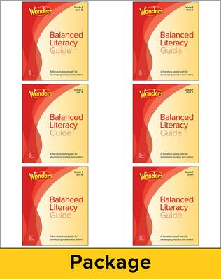 Wonders Balanced Literacy Teacher Guide Package, Grade 1