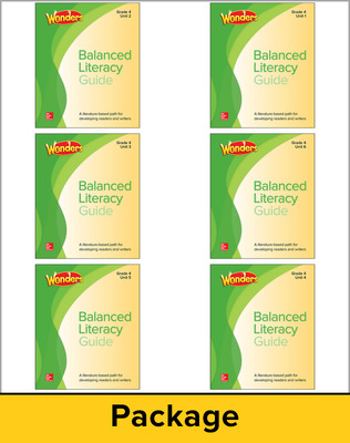 Wonders Balanced Literacy Teacher Guide Package, Grade 4