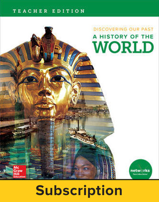 Discovering Our Past: A History of the World, Teacher Suite with LearnSmart Bundle, 1-year subscription