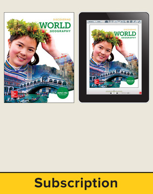 Discovering World Geography, Student Suite with LearnSmart Bundle, 6-year subscription