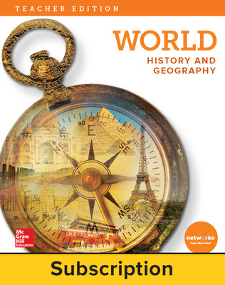 World History and Geography, Teacher Suite with LearnSmart Bundle, 1-year subscription