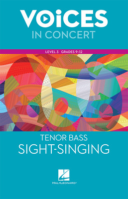 Hal Leonard Voices in Concert, Level 3 Tenor/Bass Sight-Singing Book