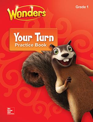 Wonders, Your Turn Practice Book, Grade 1